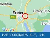 Map location: 50.72,-3.46