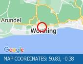 Traffic Location - 50.83,-0.38
