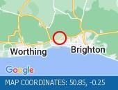 Traffic Location - 50.85,-0.25
