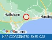 Map location: 50.85,0.38