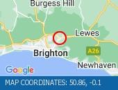 Traffic Location - 50.86,-0.1