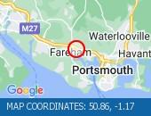 Map location: 50.86,-1.17