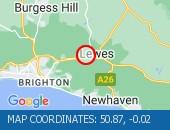 Traffic Location - 50.87,-0.02