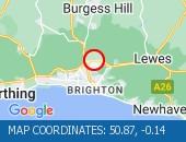 Traffic Location - 50.87,-0.14