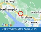 Map location: 50.88,-1.25