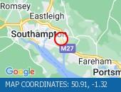 Traffic Location - 50.91,-1.32