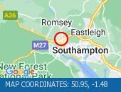 Map location: 50.95,-1.48