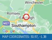 Traffic Location - 50.97,-1.38