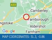 Map location: 51.3,-0.86