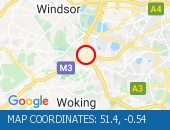 Traffic Location - 51.4,-0.54