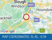 Traffic Location - 51.42,-0.54