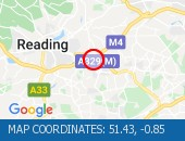 Traffic Location - 51.43,-0.85