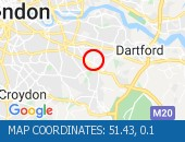 Traffic Location - 51.43,0.1