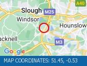 Traffic Location - 51.45,-0.53