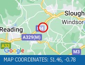 Traffic Location - 51.46,-0.78