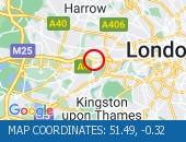 Traffic Location - 51.49,-0.32