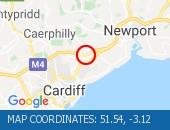 Traffic Location - 51.54,-3.12