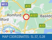 Traffic Location - 51.57,0.28
