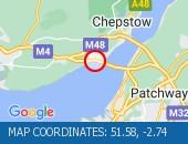 Traffic Location - 51.58,-2.74