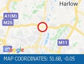 Traffic Location - 51.68,-0.05