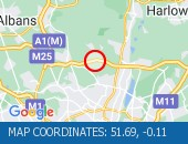 Traffic Location - 51.69,-0.11