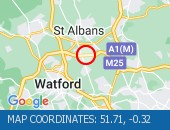 Traffic Location - 51.71,-0.32