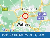Traffic Location - 51.71,-0.38