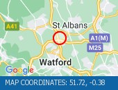 Traffic Location - 51.72,-0.38