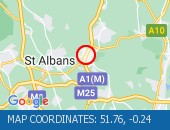 Traffic Location - 51.76,-0.24