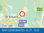 Traffic Location - 51.77,-0.23
