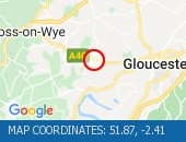 Traffic Location - 51.87,-2.41