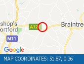 Traffic Location - 51.87,0.36