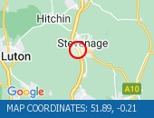 Traffic Location - 51.89,-0.21