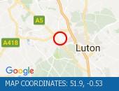 Traffic Location - 51.9,-0.53