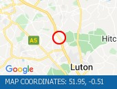 Traffic Location - 51.95,-0.51