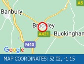 Traffic Location - 52.02,-1.15