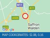 Traffic Location - 52.08,0.16