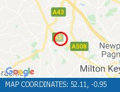 Traffic Location - 52.11,-0.95