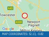 Traffic Location - 52.13,-0.82