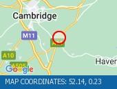 Map location: 52.14,0.23