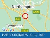 Traffic Location - 52.19,-0.89