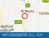 Traffic Location - 52.2,-0.29