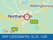 Traffic Location - 52.24,-0.85