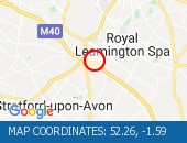 Traffic Location - 52.26,-1.59