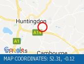 Traffic Location - 52.31,-0.12