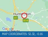 Traffic Location - 52.32,-0.16