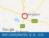 Traffic Location - 52.32,-0.24
