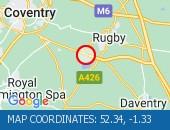 Traffic Location - 52.34,-1.33