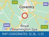 Traffic Location - 52.36,-1.53