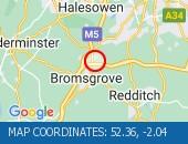 Traffic Location - 52.36,-2.04